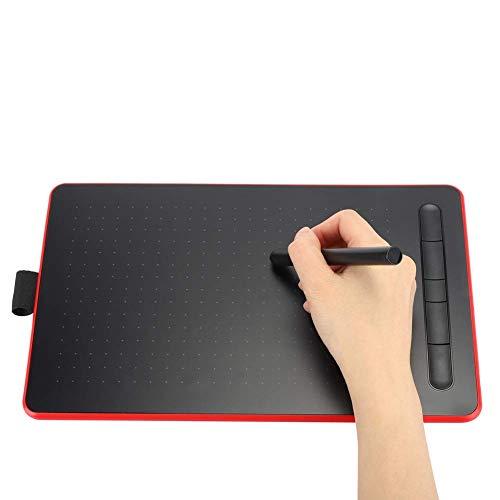 wosume 【𝐎𝐟𝐞𝐫𝐭𝐚𝐬 𝐝𝐞 𝐁𝐥𝐚𝐜𝐤 𝐅𝐫𝐢𝐝𝐚𝒚】 Tablero de Dibujo, Tableta de Escritura de gráficos Digitales electrónicos Tableta de Dibujo Pizarra Doodle Pad Pad para Kid Office(Rojo)