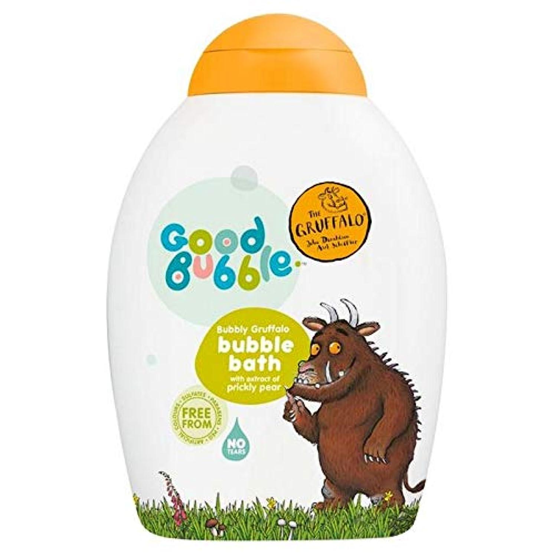 地理韻飛行機[Good Bubble ] ウチワサボテンエキス400ミリリットルとの良好なバブル快活Gruffaloの泡風呂 - Good Bubble Bubbly Gruffalo Bubble Bath with Prickly Pear Extract 400ml [並行輸入品]