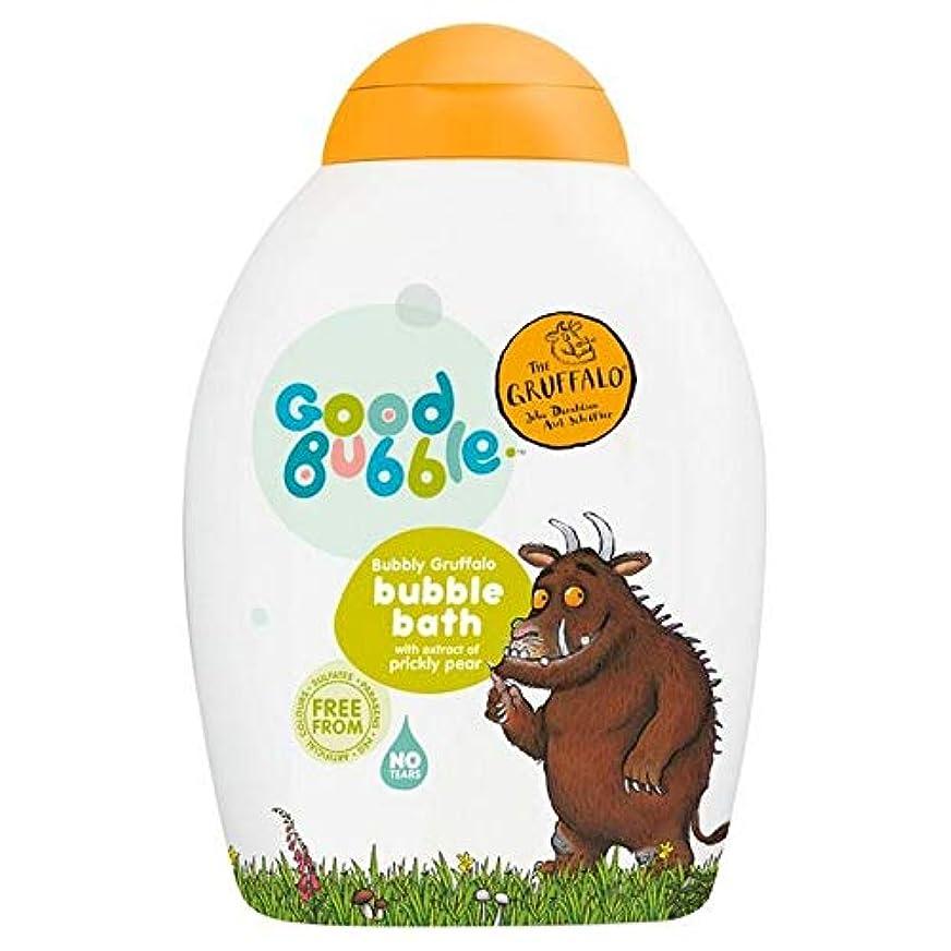 奇跡的な日記人工[Good Bubble ] ウチワサボテンエキス400ミリリットルとの良好なバブル快活Gruffaloの泡風呂 - Good Bubble Bubbly Gruffalo Bubble Bath with Prickly Pear Extract 400ml [並行輸入品]