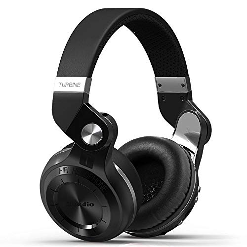 Bluedio T2 Plus Turbine Auriculares de Diadema Casco Bluetooth Inalámbrico con Micrófono I Hi-Fi Sonido Estéreo I Casco Plegable Headphone I Bluetooth Manos Libres