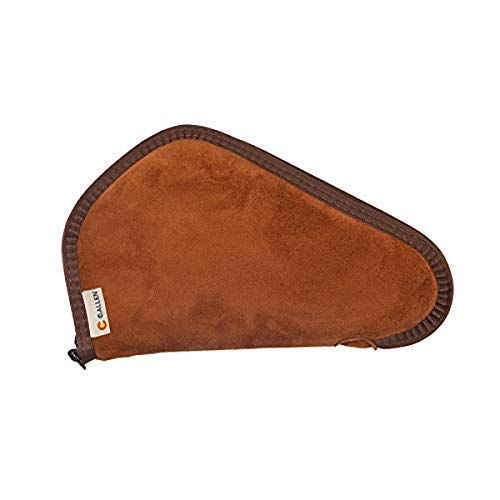 Allen Company Suede Handgun Case, 13 inch, Brown