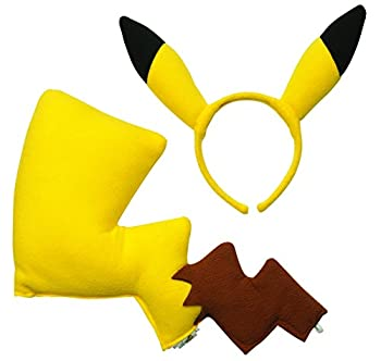 Rubies Pokémon Pikachu Ears and Tail Dress Up Kit  Discontinued by manufacturer