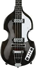 Hofner 4 String Ignition Violin Bass-Transparent Black, Right Handed (HI-BB-TBK)