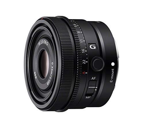 Sony SEL50F25G | Vollformat FE 50mm F 2.5 G - Premium G Serie Objektiv mit Festbrennweite