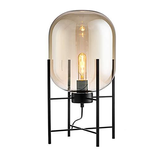 Dongbin Moderne minimalistische Scandinavische vloerlamp tafellamp bureaulamp woonkamer lezen zwart wit lampenkap staande lamp e27 lamp, wit