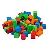 ColorBaby - Mochila con 74 bloques de goma EVA COLOR BLOCK (43736) , color/modelo surtido