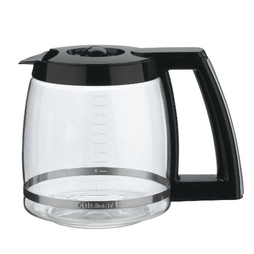 Cuisinart 14-Cup Replacement Glass Carafe, Black