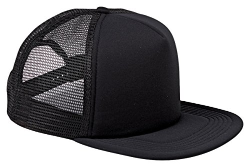 BX030 BX BX030 FOAM FRONT TRUCKR CAP BLACK/ BLACK OS