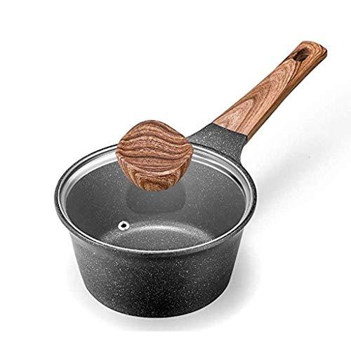 Antistick Melk Pan, Gietijzer Koken Soep Pot Melk Verwarming Voorraadpot Nonstick Pan Keuken Stewpan Saucepan voor Gas Induction Cooker HRSS