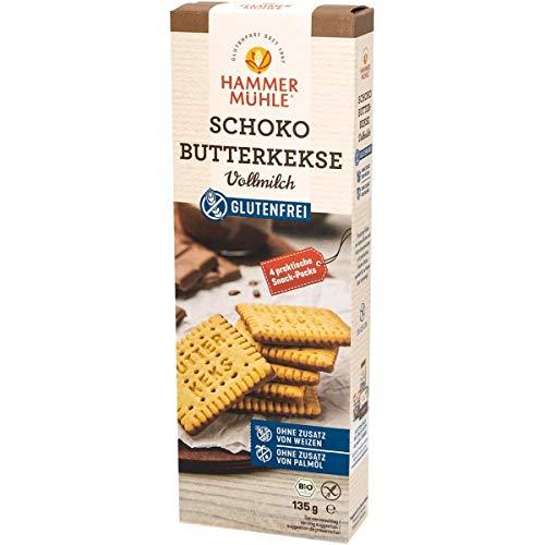 Hammermühle Schoko-Butterkekse, glutenfrei (135 g) - Bio