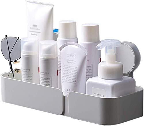 Cuarto de baño WC estante que cuelga encima del baño libre de agujeros para cosméticos Champús Productos de baño