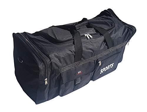 P.I.Sport N.Y. Bolsa de Deporte Grande XL de 110L. Maleta para Deporte, Gimnasio, Viaje, Camping, almacenaje. Impermeable.