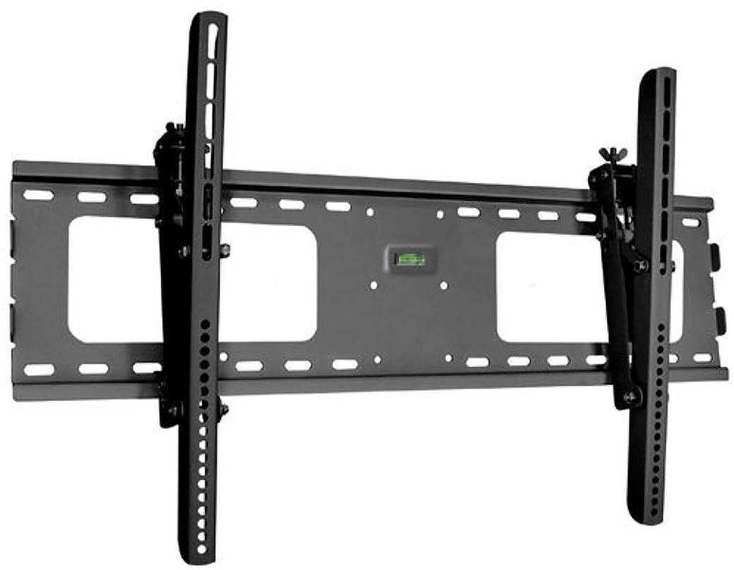 おんどりスーダン擬人化ブラックTilt / Tilting壁マウントブラケットfor Clarity Bobcat LCD HDTV TV /テレビ