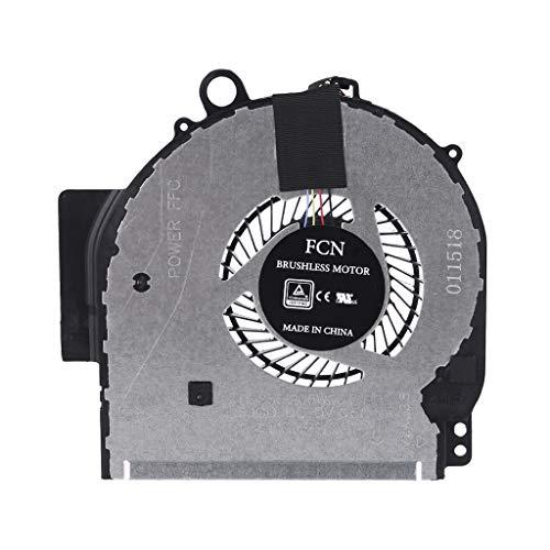 Huiingwen – Ventilador de ordenador portátil de repuesto para HP Pavilion X360 14-BA 924281-001 924282-001 DFS551205WQ0T-FJGD NBA-14P FSFTB5M