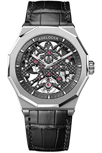 Agelocer Skeleton Diver Watches for Men...