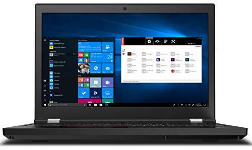"Lenovo 2021 ThinkPad P15 Gen 1 - High-End Workstation Laptop: Intel 10th Gen i9-10885H Octa-Core, 64GB RAM, 2TB NVMe SSD (Two 1TB drives), 15.6"" FHD IPS HDR Display, Quadro RTX 4000, Win 10 Pro, Black"