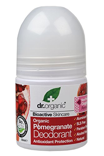 Dr Organic Pomegranate Deodorant Roll On 50ml