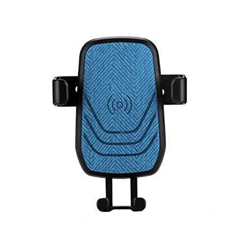 CHAN Auto-Wireless-Ladegerät Tragbarer Mini-Schwerkraft-Sensor-Telefon-Halter Launcher Blau Handy-Unterstützung Fest Neue Technologie Verschlossene