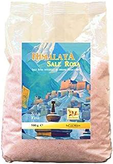 سالي دال موندو ملح الهيمالايا الوردي الناعم - 500 غ