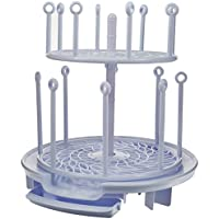The First Years Spin Stack Large Capacity Baby Bottle Drying Rack