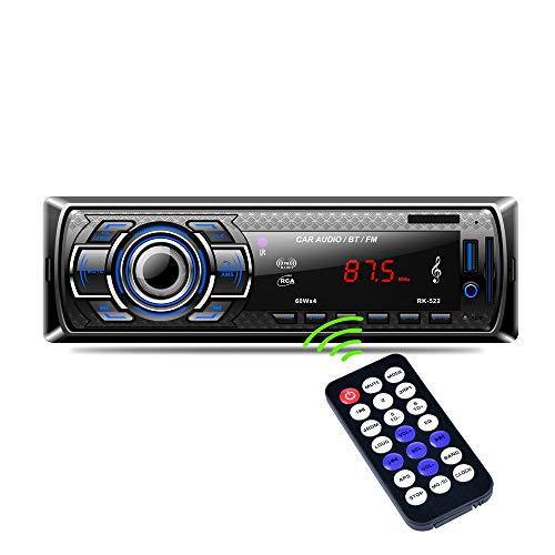 Autoradio Bluetooth, Arespark Digital Media Ricevitore Auto audio stereo con vivavoce Bluetooth, FM Lettore Musicale, MP3 Player, Supporto AUX USB SD card con Telecomando