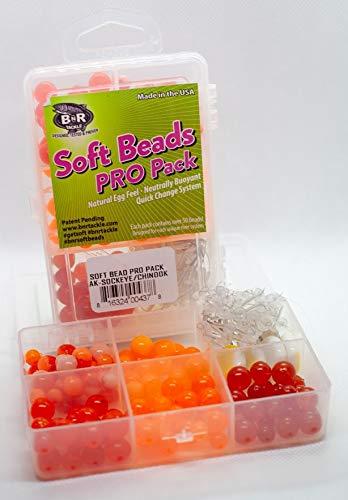 BnR Tackle SBAK Soft Beads, AK Pack-Sockeye/Chinook (Fishermans AK...