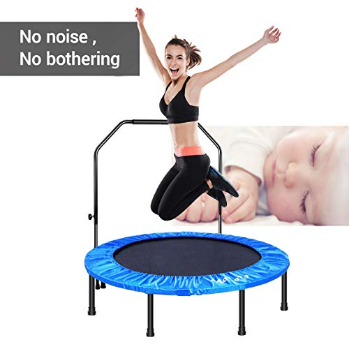 "MOVTOTOP 48"" Folding Indoor Trampoline"
