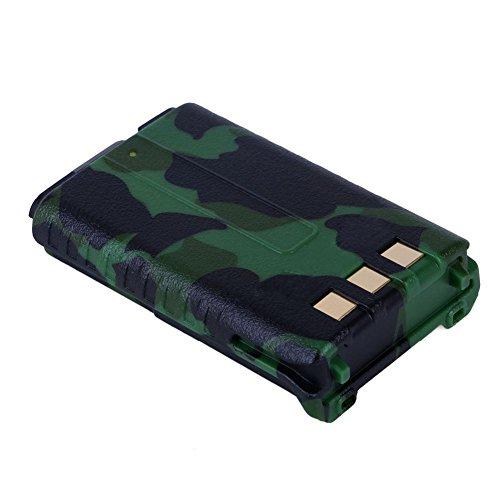 Cikuso Original Baofeng UV-5R BL-5 Bateria de Iones de Litio Baofeng UV-5RE de 7.4V 1800mah Accesorios de interfonos BF-F8HP Radio bidireccional UV5R