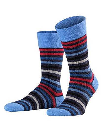FALKE Herren Tinted Stripe M SO Socken, Blau (Dark Sapphire 6278), 43-46 (UK 8.5-11 Ι US 9.5-12)