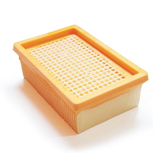MI:KA:FI Filtro plissettato piatto | per Kärcher Aspiratori solidi-Liquidi + Aspirapolvere acqua e polvere | MV4 + MV5 + MV6 + WD4 + WD5 + WD6 | come 2.863-005.0