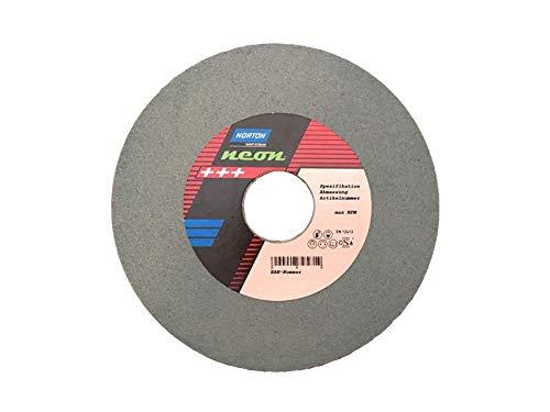 1 Stück NORTON Neon Schleifscheibe 150 x 20 mm Korn 120 grünes Siliziumkarbid Widia