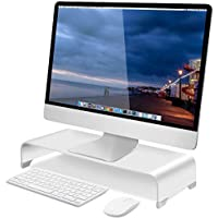 Soundance Aluminum Riser Monitor Stand for Keyboard Mouse Office Supplies