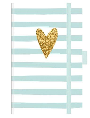 PT Small Heart Glamour 273219 2019: Buchkalender - Terminplaner mit hochwertiger Folienveredelung und Prägung. 9 x 14 cm