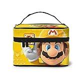 Bolsa de maquillaje multifuncional de dibujos animados de Anime, Super Mario, bolsa de aseo de viaje, bolsa de almacenamiento de cosméticos, bolsa de lavado portátil de viaje para mujeres y niñas