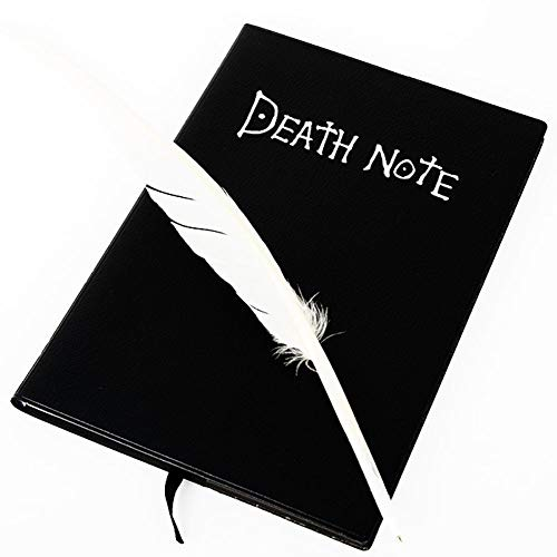 Star Eleven Death Note Cosplay Notizbuch mit Federstift, Anime-Design, Schreibtagebuch, Schule