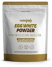 HSN Ei-albumine | 100% Gedroogd Wit Eipoeder | Natuurlijk Eiwit | Vetvrij, Cholesterolvrij, Vegetarisch, Glutenvrij, Lactosevrij, Natuurlijke Smaak, 500g