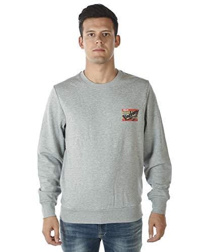 BURBERRY - Herren Sweatshirt 8002036 Grigio TEMPORIN XL