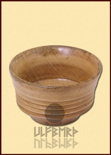 Kleine Holzschüssel, Frühmittelalter von ULFBERTH - Schale -Holzschale