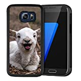 Samsung Galaxy S6 Edge Case Goat PC and TPU Shockproof Slim Anti-Scratch Protective Dual Layer Rugged Case Non-Slip Grip Case for Samsung Galaxy S6 Edge