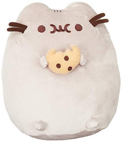 "GUND Pusheen Snackables Cookie Plush Stuffed Animal Cat, 9.5"""