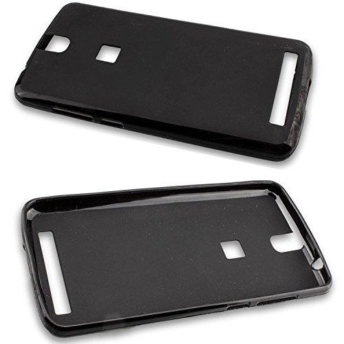 caseroxx TPU-Hülle für Elephone P8000, Handy Hülle Tasche (TPU-Hülle in schwarz)