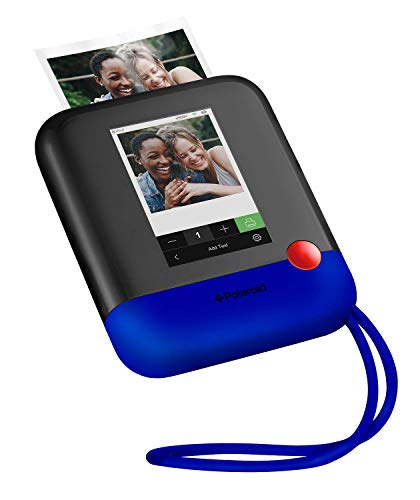 Zink Polaroid Pop 2.0 2 in 1 Wireless Portable Instant 3x4 Photo Printer & Digital 20MP Camera with Touchscreen Display, Built-in Wi-Fi, 1080p HD Video (Blue) Prints From your Smartphone