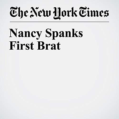 Nancy Spanks First Brat audiobook cover art