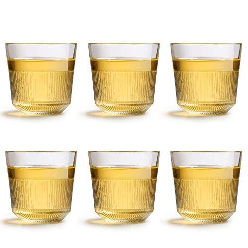 Libbey bicchiere da acqua Oyra - 266 ml / 26.6 cl – Set di 6 pezzi - Impilabile - Lavabile in lavastoviglie - Design moderno