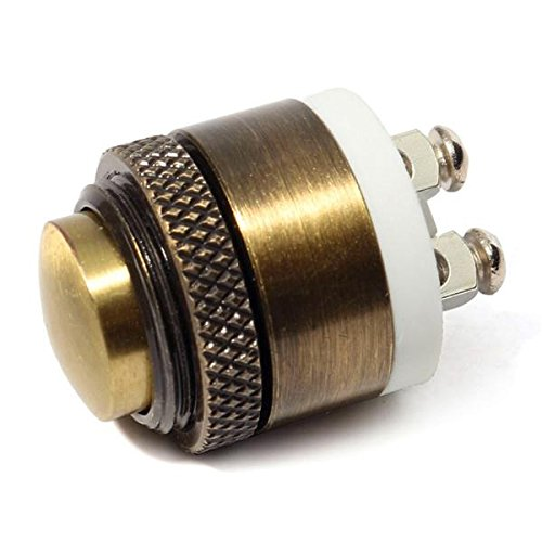 EsportsMJJ 16mm momentary messing metaal push button deurbel schakelaar