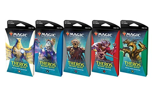 MTG Magic The Gathering Theros Beyond Death Theme Booster Box - 10 Paquetes de 35 Tarjetas Cada una.