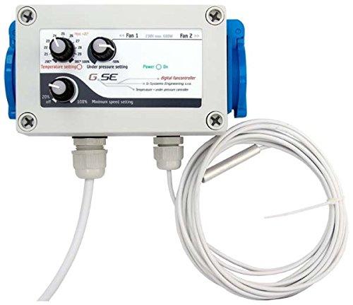 Contrôleur de Température et vitesse Basse Pression GSE (GSE-2)