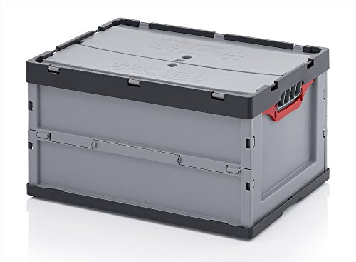 Faltbox m. Deckel Auer 60 x 40 x 32 cm - FBD 64/32, 67 Liter