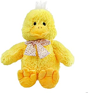 Korean World Free Dropshipping 1Pcs 30Cm Super Cute Yellow Duck Plush Toys with Bows I Duck Stuffed Animal Toys Birthday Gifts for Kids Must Have Toys Friendship Gifts Childrens Favourites