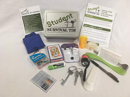 Survival Tins Student, perfect university college gift set/box idea for...